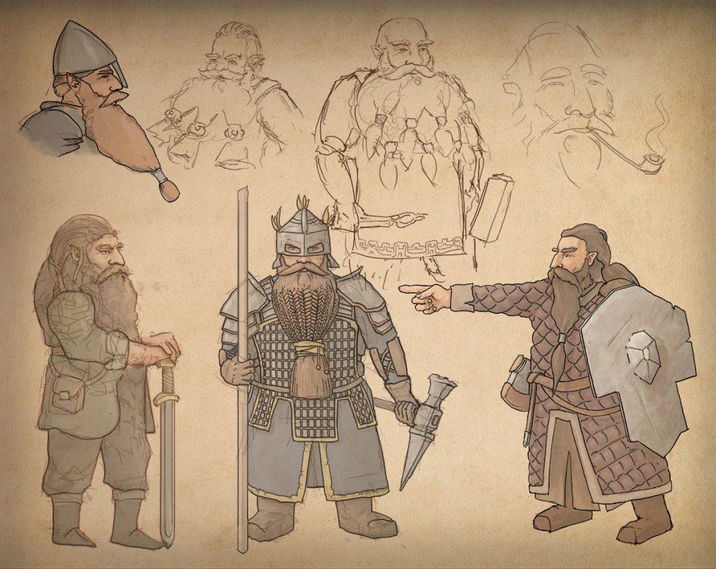 Game Development 3D Unity HDRP Dwarves RPG Immersive Hack & Slash Cooking Crafting Survival